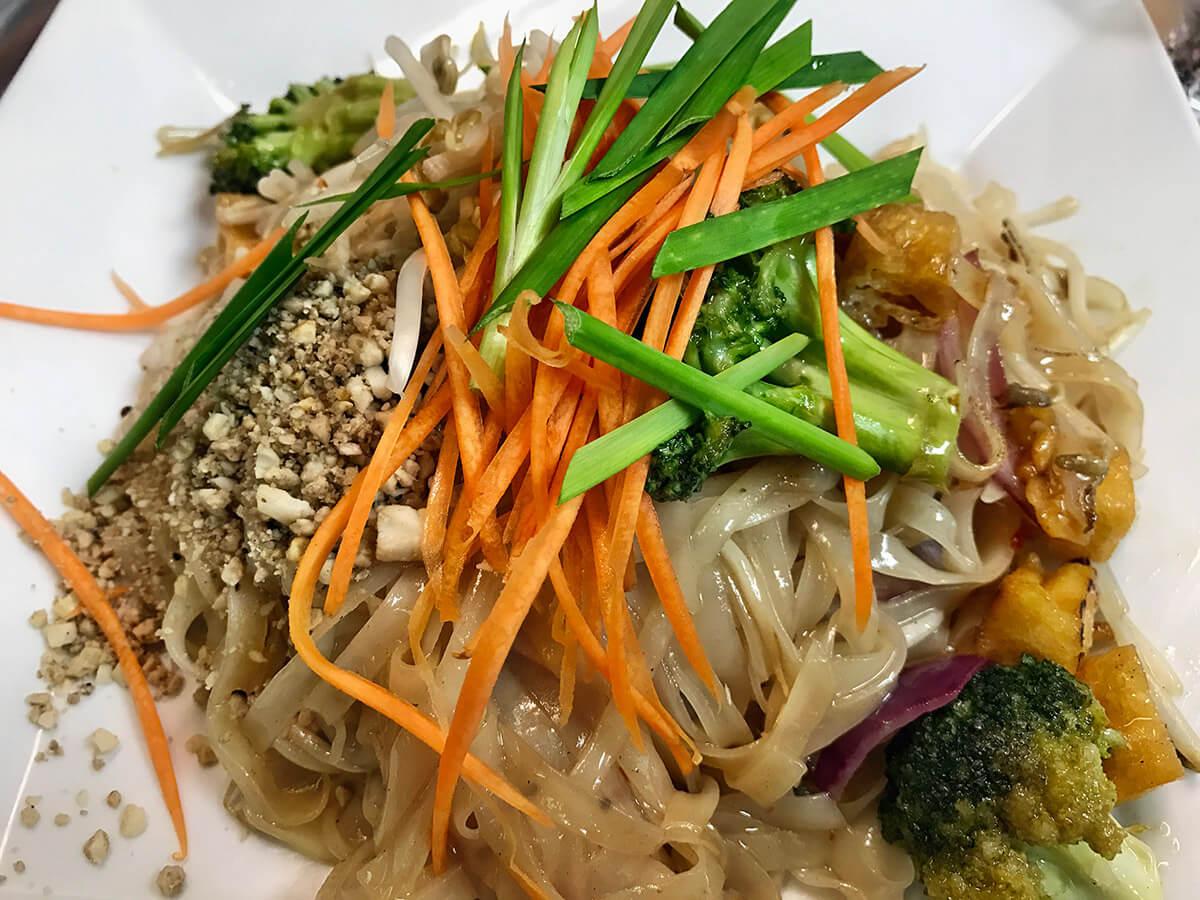 how to cook tofu for pad thai