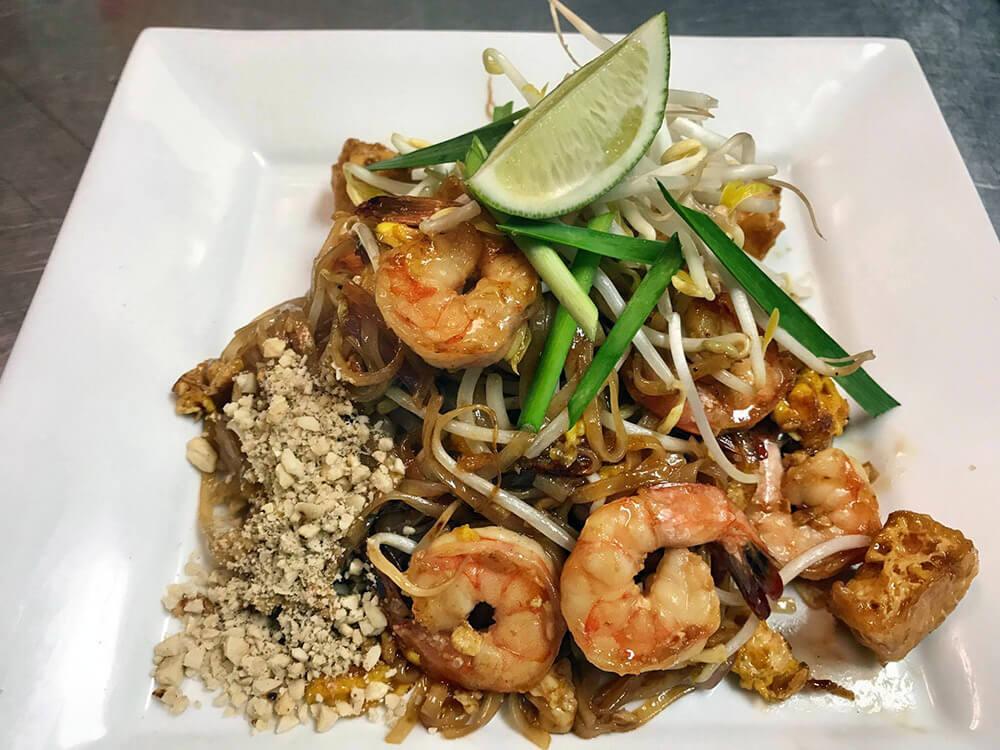 Our Thai Food menu
